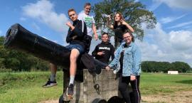 Uczniowie SP5 w Bergen op Zoom.