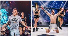 Fame MMA 4. Szczecinecki youtuber Medusa wygrywa w swoim debiucie