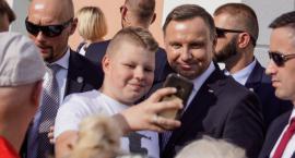 Prezydent Andrzej Duda spotkał się z mieszkańcami Szczecinka