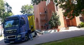 W Szczecinku ruszył ostatni etap remontu wieży kościoła mariackiego