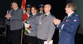 Policjanci awansowani i wyróżnieni. Święto Policji w Szczecinku