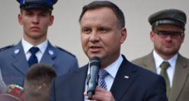 Prezydent Andrzej Duda o wizycie w Szczecinku: Mogę te koszty pokryć z własnej kieszeni