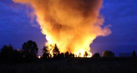 Paliła się fabryka opakowań przy ul. Harcerskiej. Aktualizacja
