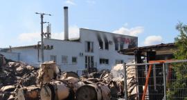 Pożar w zakładzie Opak w Szczecinku. Płynie wsparcie dla pracowników