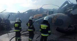 Kronospan pomaga strażakom przy pożarze OPAK