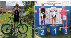 Antoni Borys i Oliwia Talkowska na podium Pucharu Polski