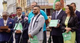 Gotowi do startu w wyborach. Kandydaci PSL-KP zaprezentowali się w Szczecinku