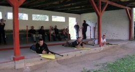 Zawody strzeleckie honorowych krwiodawców