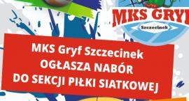 MKS Gryf ogłasza nabór do sekcji piłki siatkowej