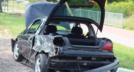 Groźny wypadek na szczecineckiej obwodnicy