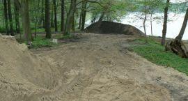 Ścieżka rowerowa w budowie – pod nadzorem archeologa