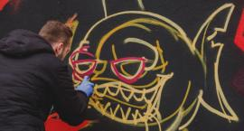 Graffiti Jam na Słowiańskiej. Kolejne miejsce w Szczecinku nabrało kolorów