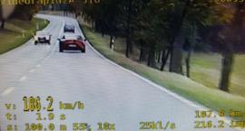 """Koło Wierzchowa jechał """"tylko"""" 186 km/h"""