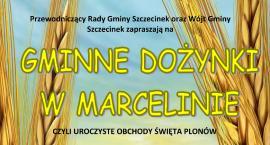 Dożynki Gminne Marcelin 2017 - zaproszenie