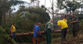 Mieszkańcy Gminy Szczecinek pomagają poszkodowanym w nawałnicach mieszkańcom Gminy Dziemiany
