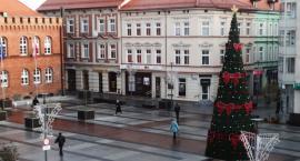 Nasza turbo choinka na placu Wolności. To już jej czwarty rok w Szczecinku