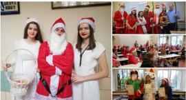 Mikołaje, śnieżynki i prezenty. Uczniowie ze Szczecinka świętują dzień 6 grudnia