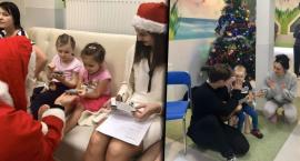 Uczniowie z I LO spotkali się z dziećmi w szpitalu z okazji Mikołajek