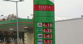 Taniej i drożej na stacjach paliw