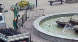 Idzie zima – fontanna kończy sezon