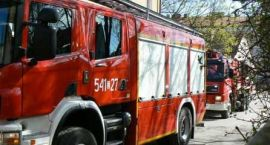 Ćwiczenia w Przedszkolu Publicznym – pożar i ewakuacja dzieci
