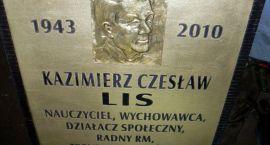 Tablica ku pamięci Kazimierza Lisa