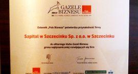 Szczecinecki szpital zbiera pochwały