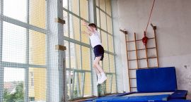 Wojewódzka Olimpiada Młodzieży - akrobatyka