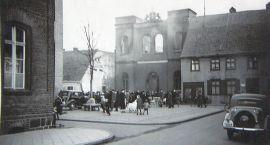 Stary Szczecinek: Płonąca synagoga