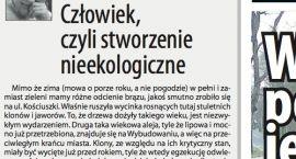 Jerzy Gasiul: Człowiek czyli stworzenie nieekologiczne