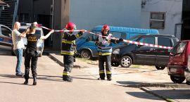 Służby interweniują na ul. Piotra Skargi