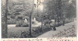 Stary Szczecinek: Pocztówka z parku