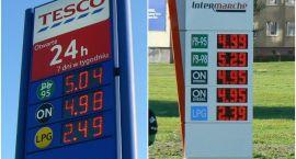 Jedno rondo, trzy stacje paliw. Ceny zwariowały?