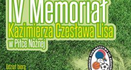 Memoriał K. Cz. Lisa: Zagrają II i III-ligowcy