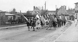 Stary Szczecinek: Zdjęcie majowego pochodu
