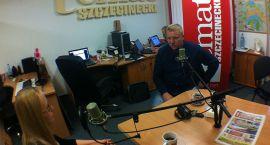 Pogromca fotoradarów w radiu Temat: W Szczecinku czuję się bardzo