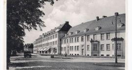 Stary Szczecinek: Skrzyżowanie Bahnhofstraße z Brombergerstraße