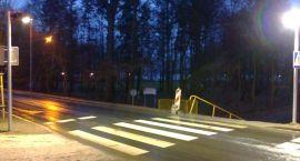 Oświetlili 6 przejść dla pieszych. Remont ul. Kościuszki na finiszu