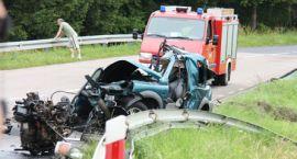 """Tragedia pod Szczecinkiem -dwie ofiary wypadku na """"jedenastce"""""""
