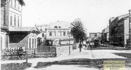 Stary Szczecinek: Mleczarnia i budynki mieszkalne