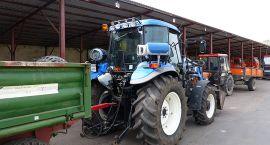 Szczecinecki traktor jeździ na gazie
