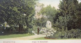 Parkowe lapidarium
