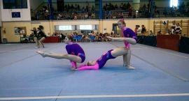 Akrobaci Darzboru na mistrzostwach młodzików