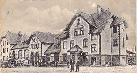 Stary Szczecinek: Dworzec kolejowy
