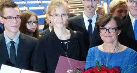 Kinga Kanecka ze stypendium Ministra Edukacji