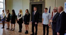 Olek Romanowski, uczeń ZSS STO, stypendystą premiera