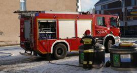 Strażacy znów interweniowali na ul. Szkolnej