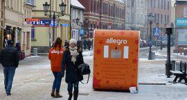 Budka życzeń w kolorach Allegro
