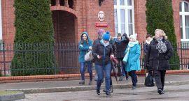 Ewakuacja Sądu Rejonowego w Szczecinku