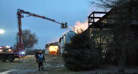 Pożar w Karolewku. Poparzone konie czekają na pomoc